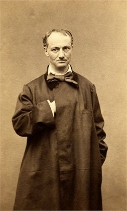 """Baudelaire was deeply interested in dandyism, and memorably wrote that a dandy aspirant must have """"no profession other than elegance... no other status, but that of cultivating the idea of beauty in their own persons... The dandy must aspire to be sublime without interruption; he must live and sleep before a mirror."""""""