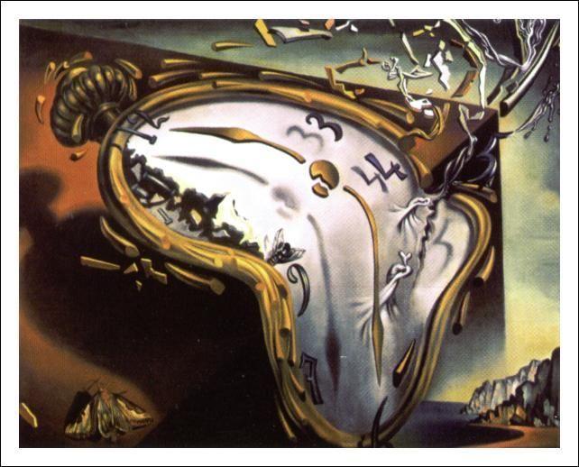 salvador dali paintings famous paintings melting clocks