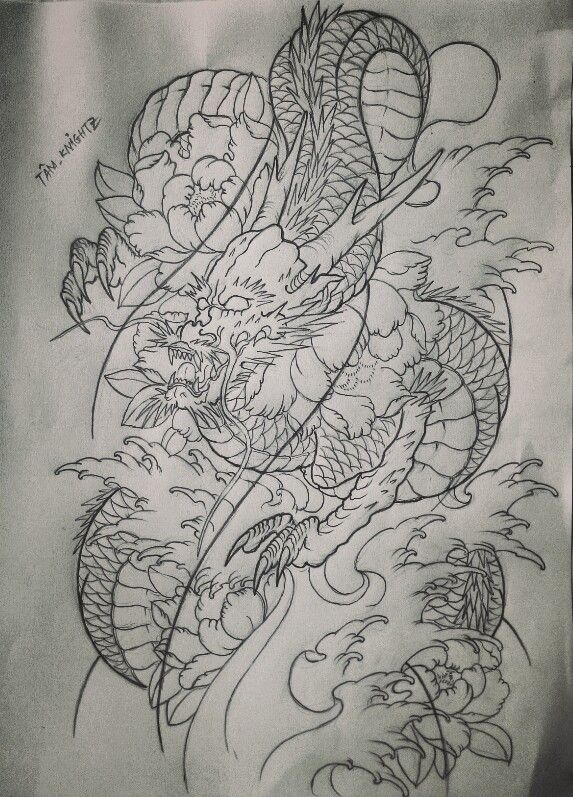 Dragon Tattoo Japanese Dragon Tattoos Dragon Tattoo Dragon Tattoo Designs