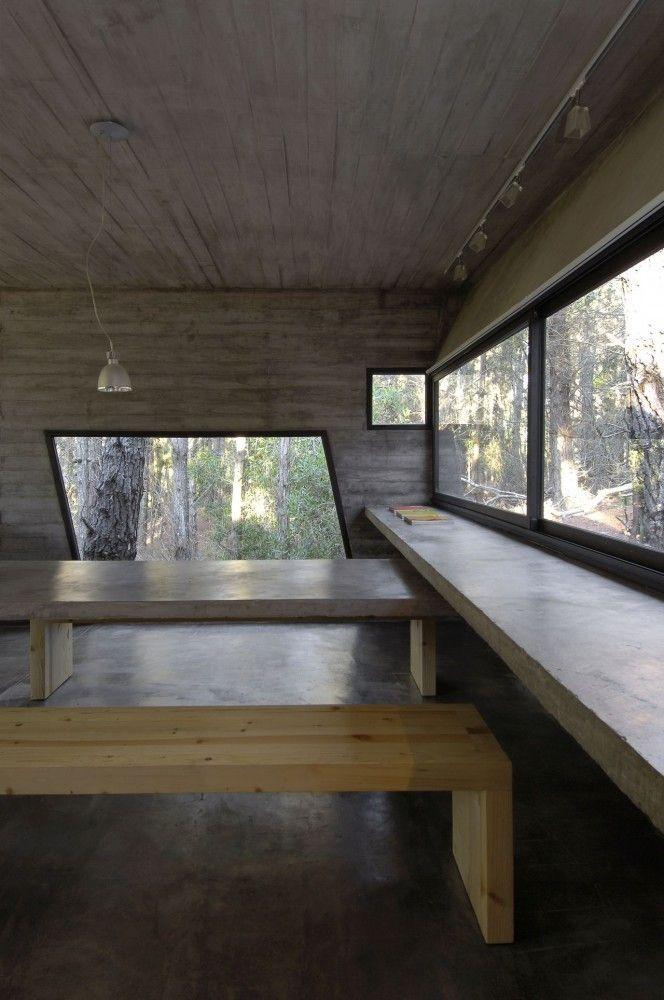 Concrete House / BAK Architects Concrete House / BAK Architects – ArchDaily Así quiero mi estudio!!