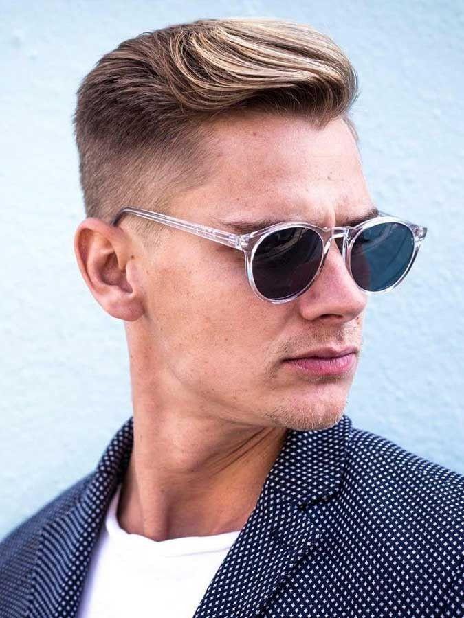 22 Männerfrisuren mit Brille zum Schauen Cool und stilvoll