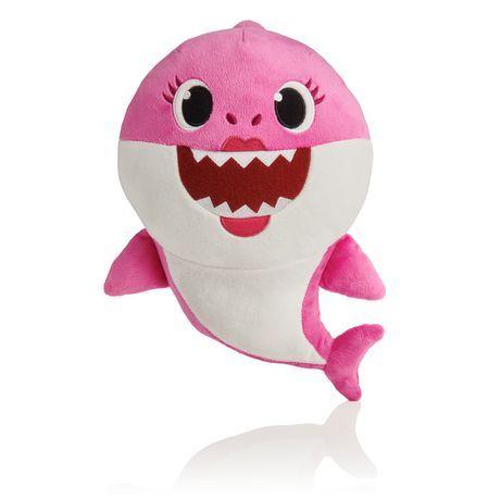 Soft Doll Baby Kid Shark With Music Cute Animal Stuffed Plush Baby Shark Toys US