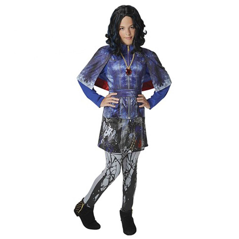 Disfraz De Evie Los Descendientes Para Niña Evie Costume Kids Costumes Disney Descendants
