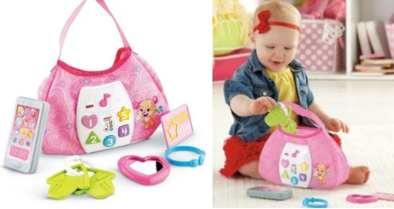Amazon: Fisher-Price Laugh & Learn Sis' Smart Stages Purse $10.87 {reg. $19.99}