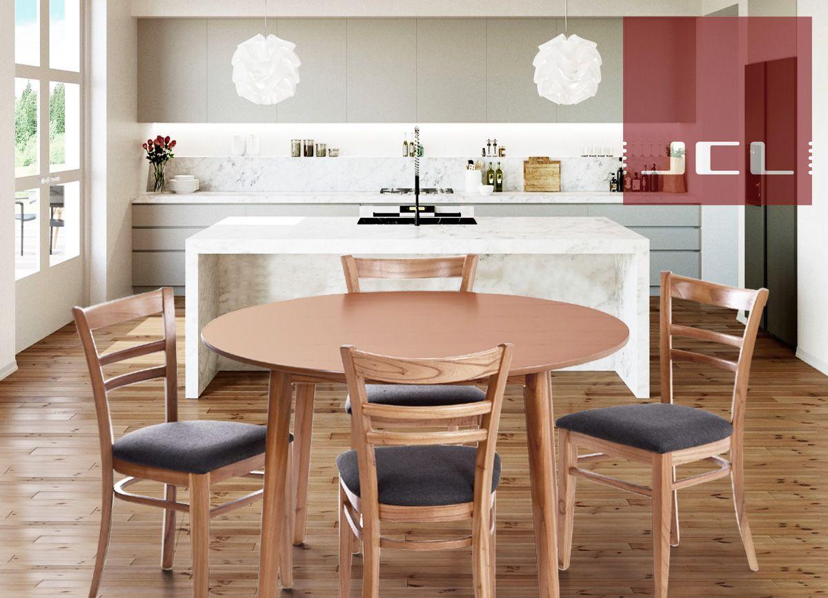 JCL - Juego de sillas y mesa para la cocina en paraíso ...