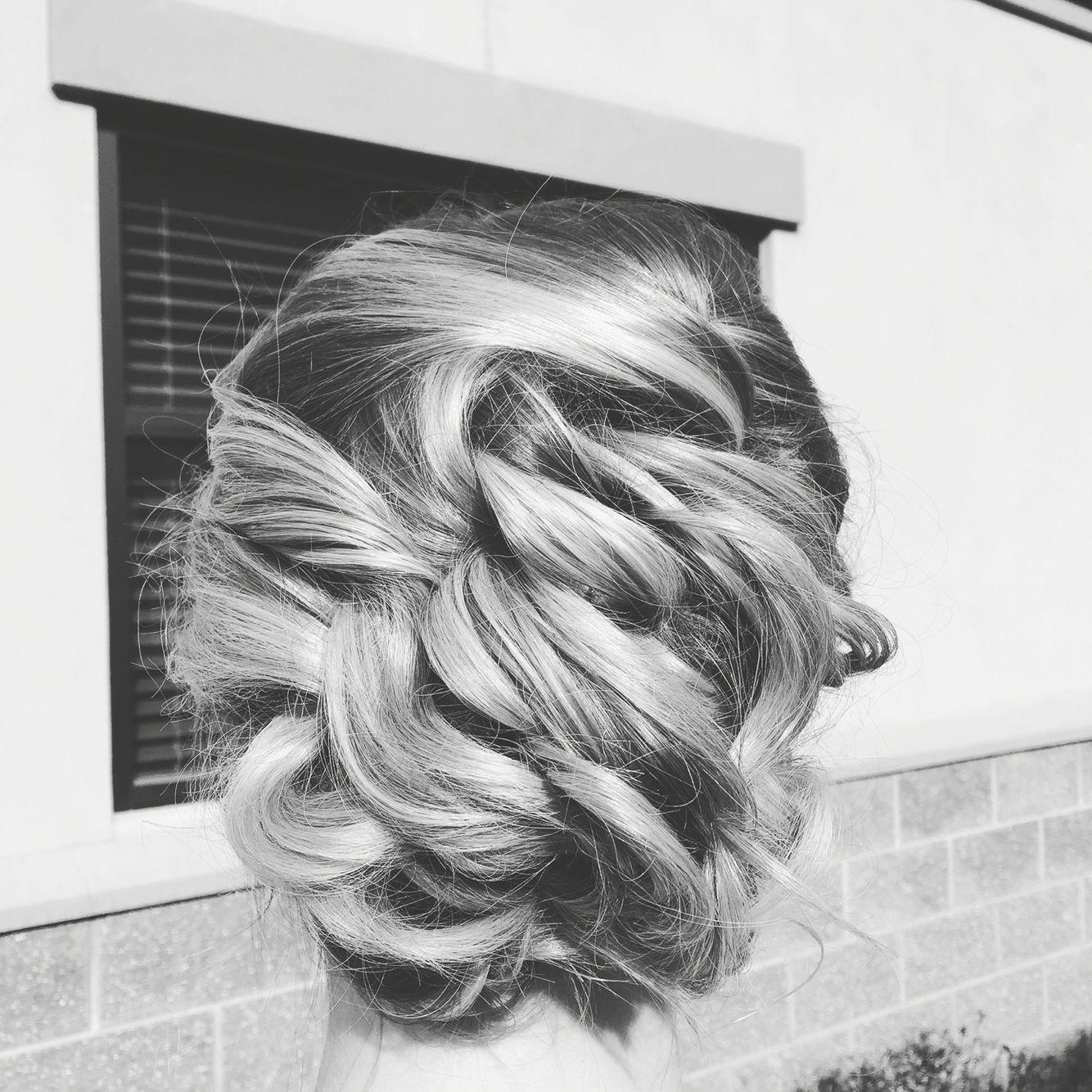 Fancy Formal Hair Redken Fancy Sidedo Curls Longhair - Haircut missoula