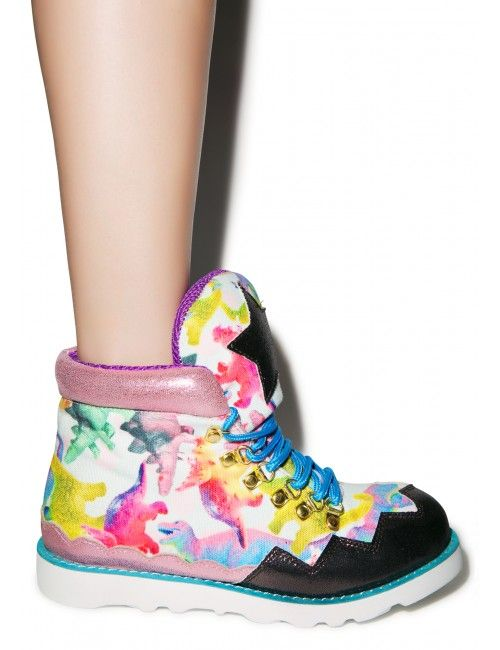 Irregular Choice Touching The Void Boots | Dolls Kill
