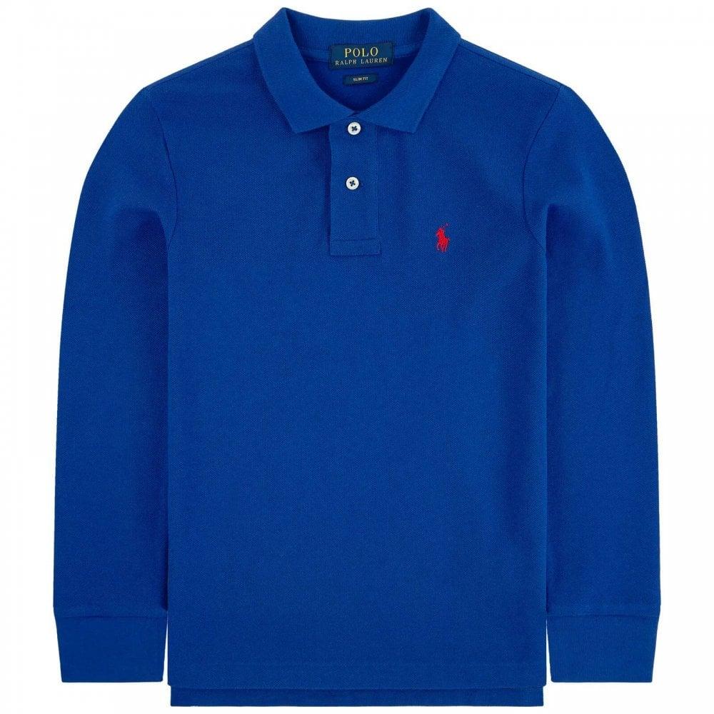 Ralph Lauren Long Sleve Logo Polo Size S 8 Years Colour Blue Chanidda Com Kids Denim Shirt Kids Denim Ralph Lauren