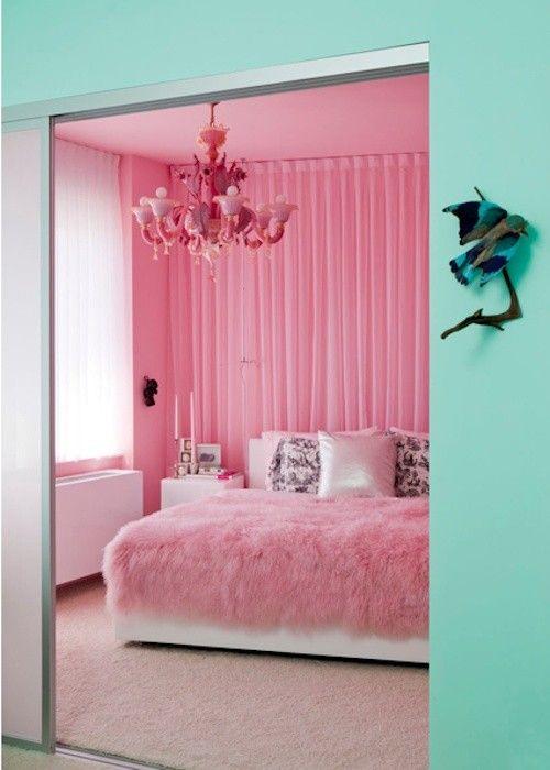 Panda S House Interior Design Inspiration Pink Bedrooms Pink