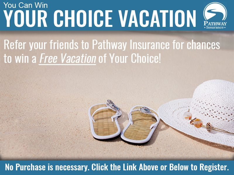 Your choice vacation win a vacation home insurance