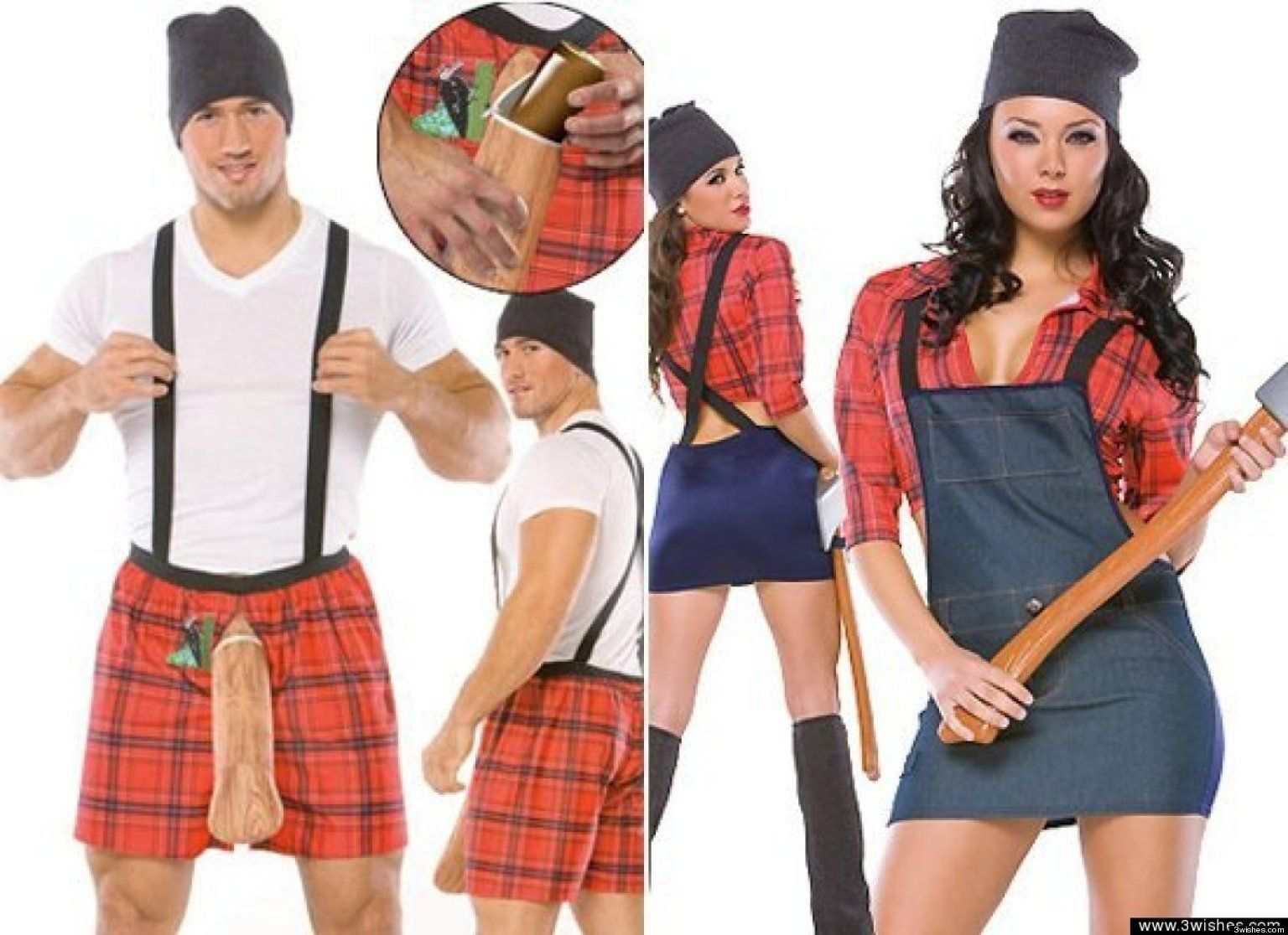 look 5 extremely awkward couples costumes costumes couple - Good Guys Halloween Costumes