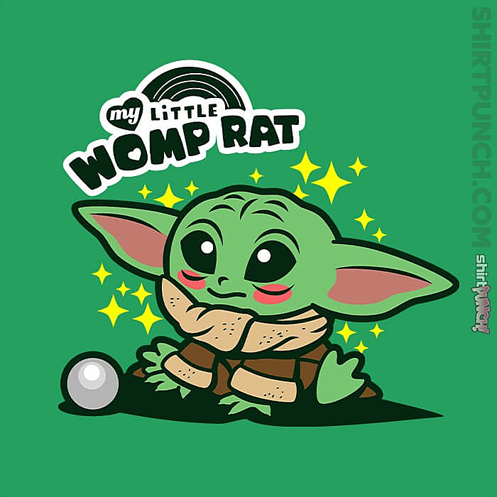My Little Womp Rat T Shirt In 2020 Cute Cartoon Wallpapers Star Wars Characters Yoda Star Wars Background High quality womp rat gifts and merchandise. pinterest