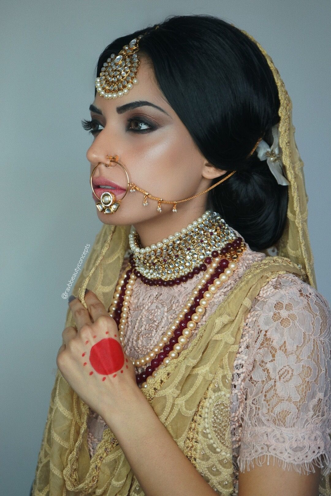 Indian Bridal Makeup Indian Bridal Hair Bridal Makeup Bridal Hair Wedding Makeup Wedding Hair South Asian Indian Bridal Makeup Bridal Makeup Asian Bride