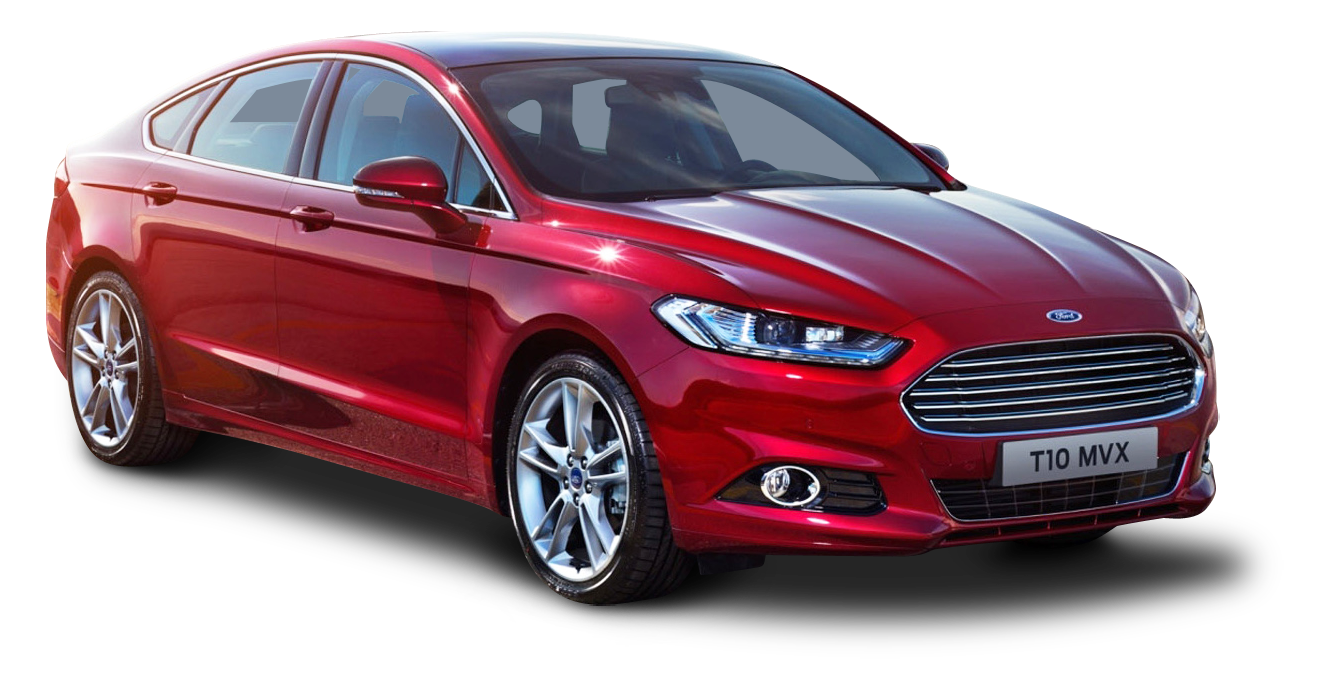 Ford Mondeo Red Car Png Image Ford Mondeo Red Car Ford
