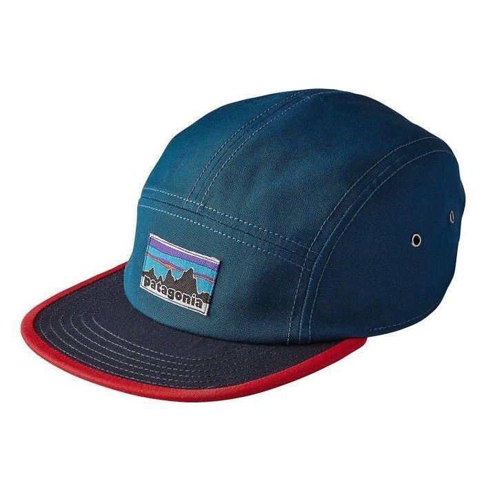 e678a234fa7 Patagonia Hat Retro Fitz Roy Label 5-Panel 100% Organic Cotton Tradesmith  Cap A modern 5-panel