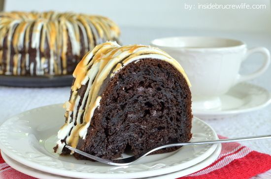 Salted Caramel Mocha Bundt Cake | Inside BruCrew Life ...