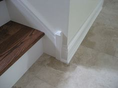 Stair Baseboard Molding   Google Search · Wood StaircaseStaircase IdeasStair  ...
