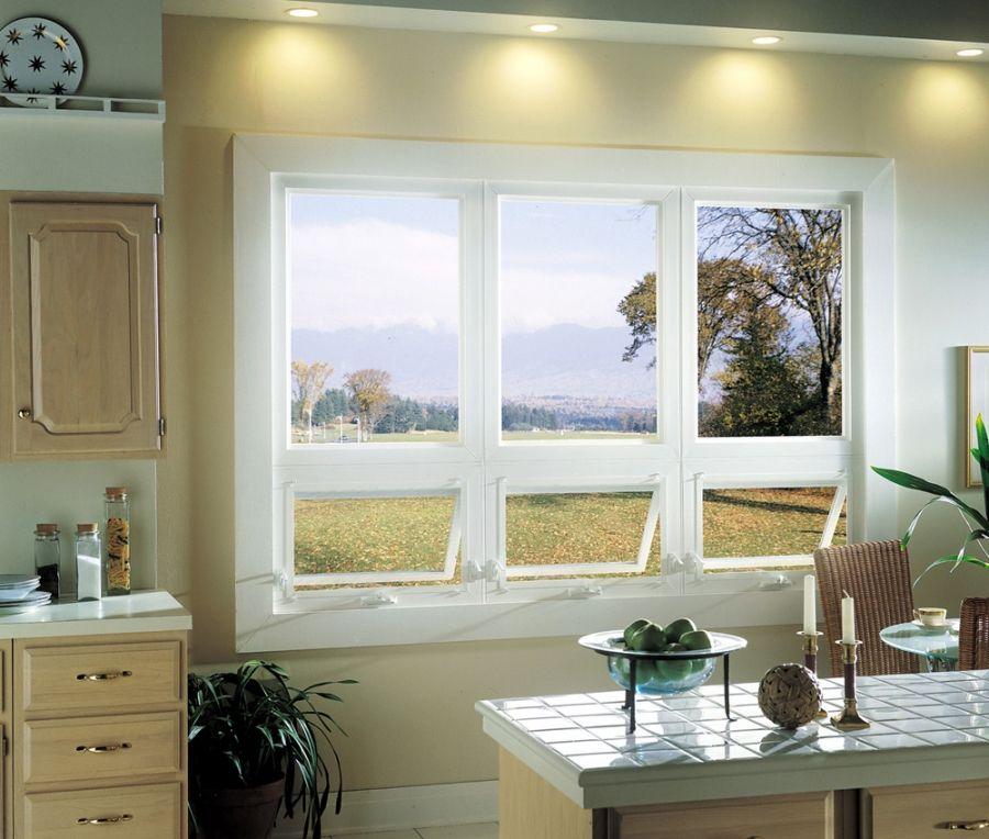 Kitchen Designs With Center Window: Awning Window, Bedroom Kitchen Basement Dormer Window