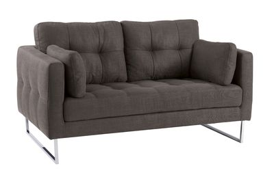 Dwell Paris Two Seater Sofa Dark Grey 799 Sofa Sofa Design