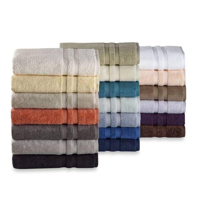 Wamsutta Perfect Soft Micro Cotton Bath Towel Collection Bed