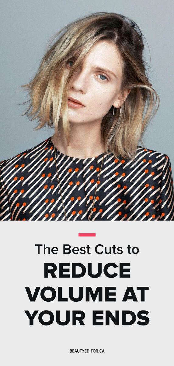 Ask A Hairstylist The Best Cuts To Reduce Volume At Your Ends