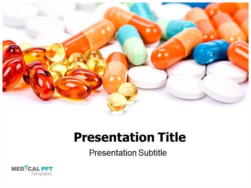 Pin By Medical Ppt Templates On Medicinal Pills Template Pinterest