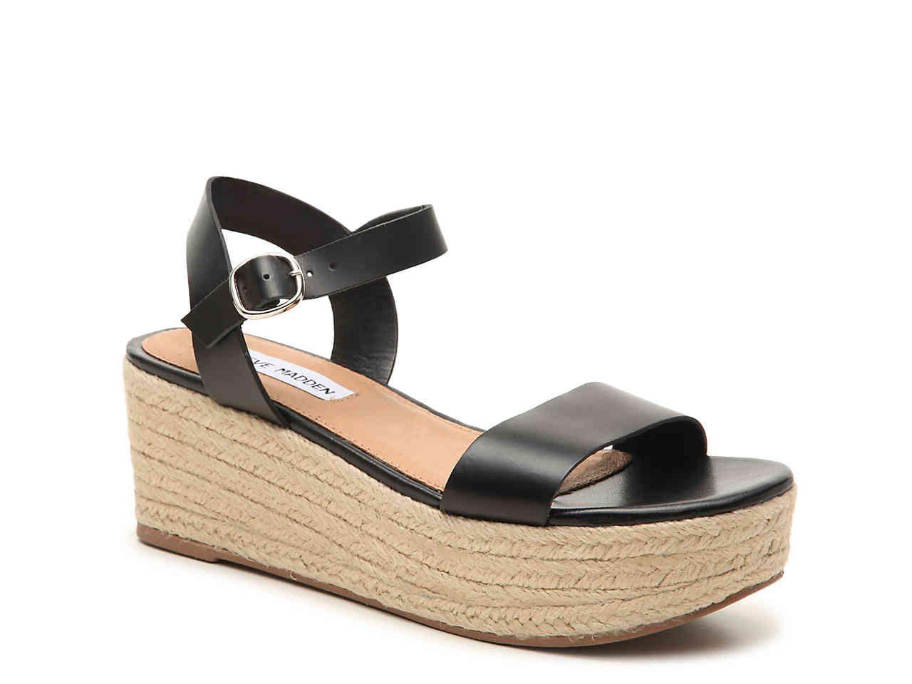 658dc5a6c09 Steve Madden Brandice Espadrille Wedge Sandal Women's Shoes | DSW ...