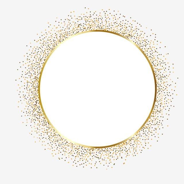 Zolotoj Krug Dizajn Ramki Pogranichnyj Klipart Zoloto Sverkanie Png I Vektor Png Dlya Besplatnoj Zagruzki Gold Circle Frames Frame Border Design Circle Frames