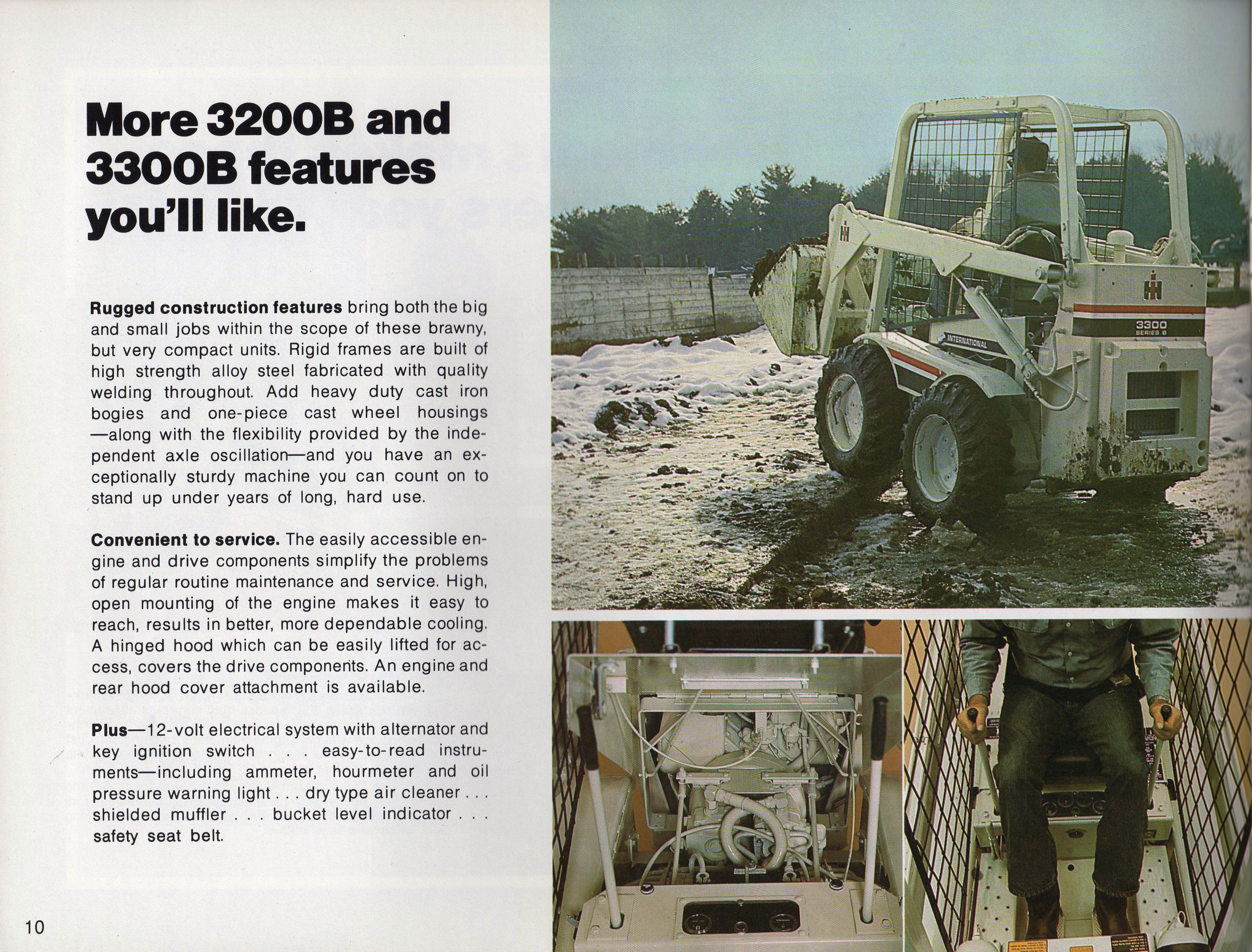 Case IH Model 510 Loader Pamplet