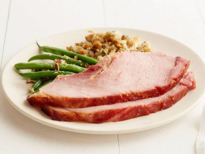 Peach ginger glazed ham recipe hams glaze and peach peach ginger glazed ham forumfinder