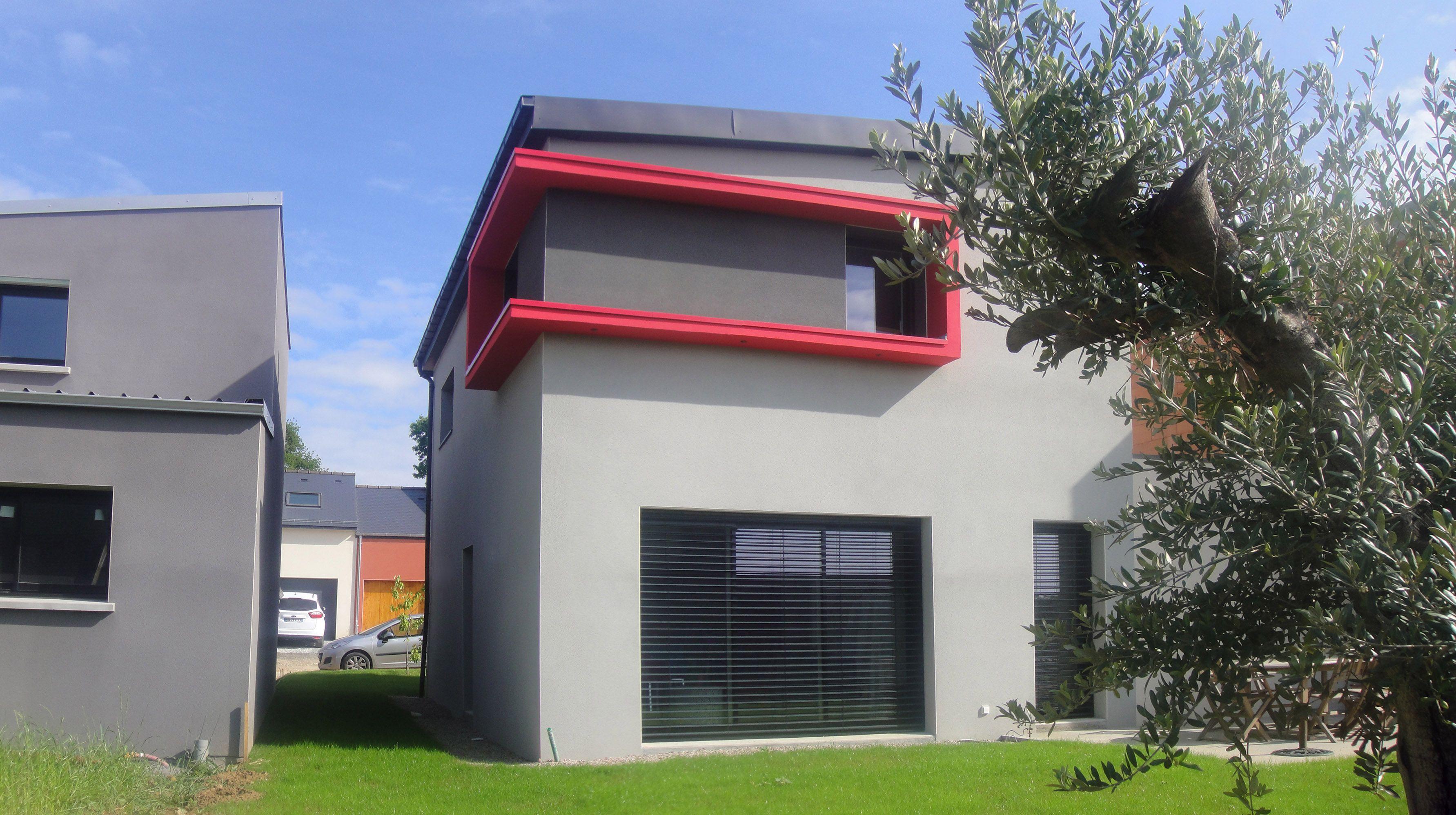 Facades De Maisons En Couleurs couleur enduit facade maison moderne - recherche google