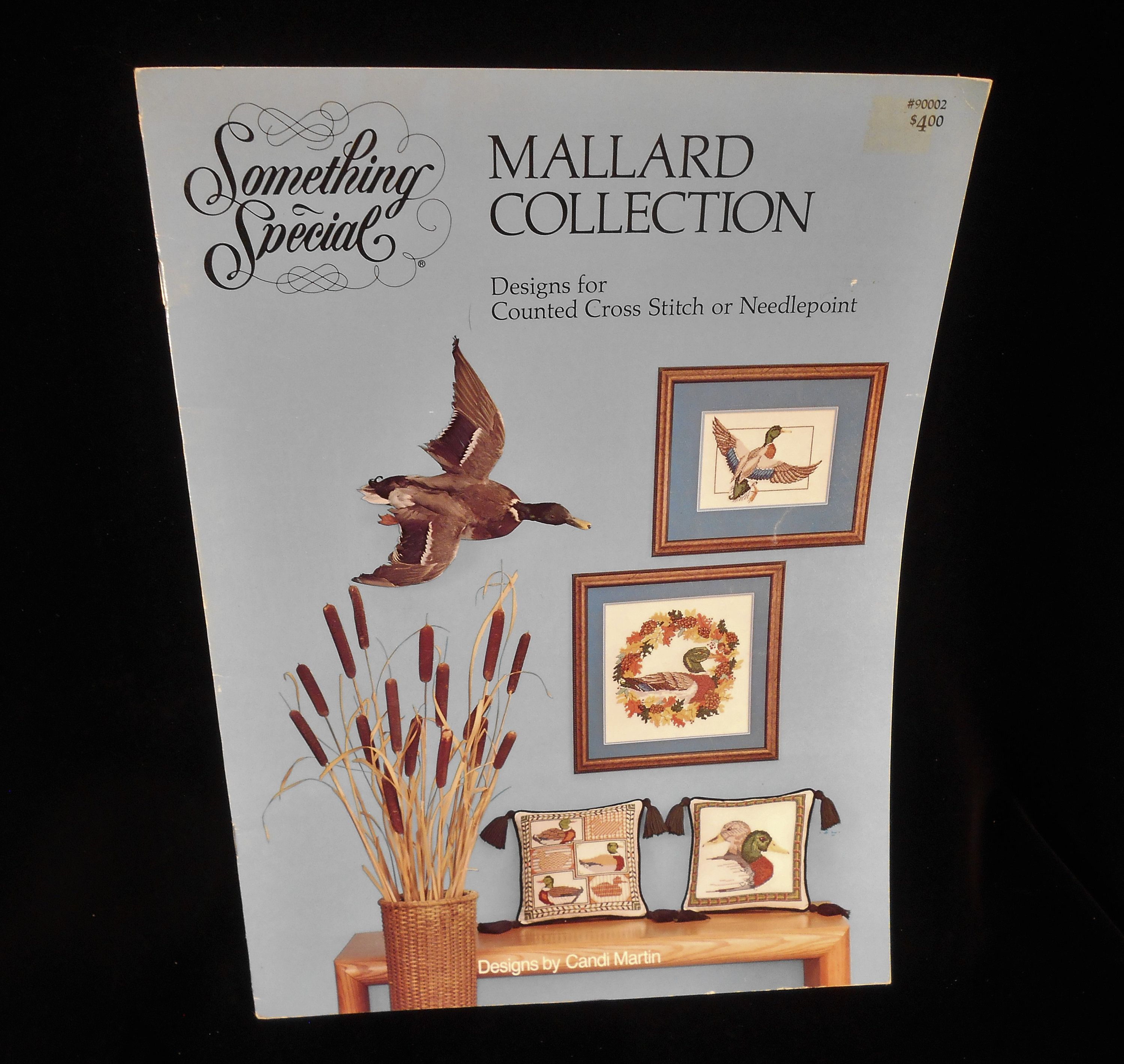 Mallard Collection Designs for Counted Cross Stitch or Needlepoint