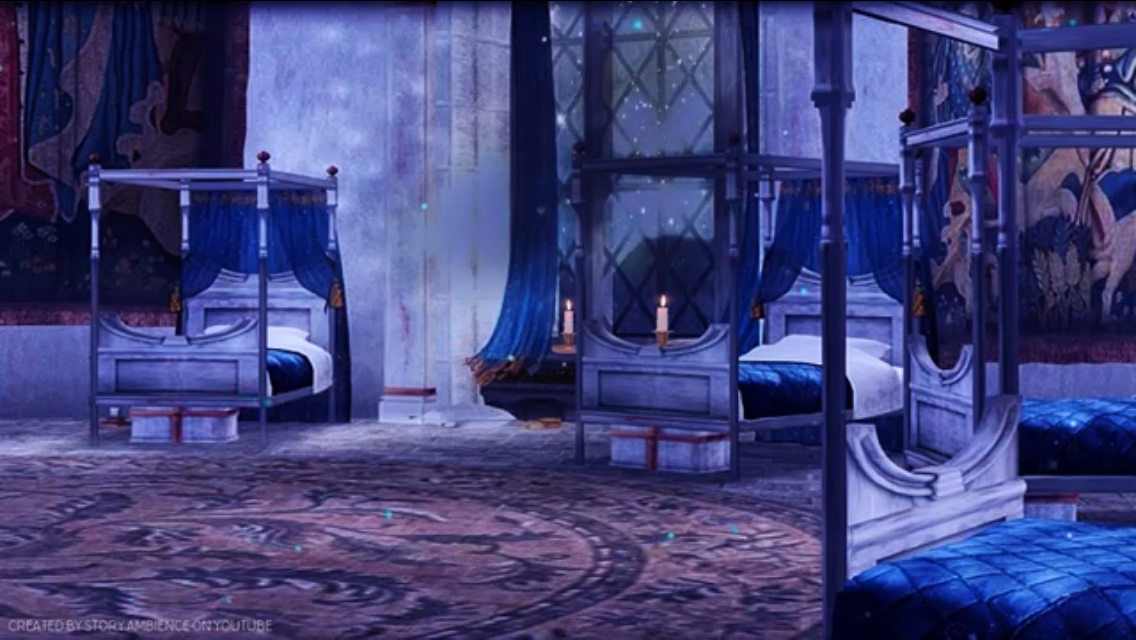 Ravenclaw Girls Dorm Ravenclaw Harry Potter Bedroom