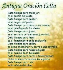 Celta Bendicion Celta Oraciones Y Frases Motivadoras