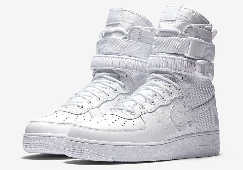The Triple White Nike Special Field Air Force 1 Will Be Releasing Next Week