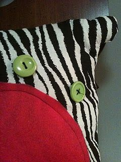 Check out my daughter, Cara's, cute pillows!