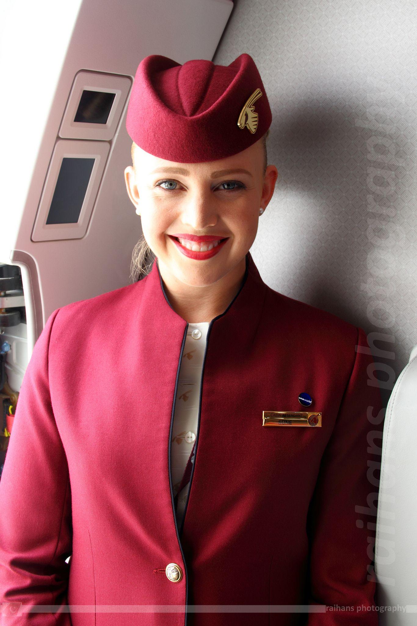 Cabin Crew Qatar Airways Airbus A350941 XWB A7ALF