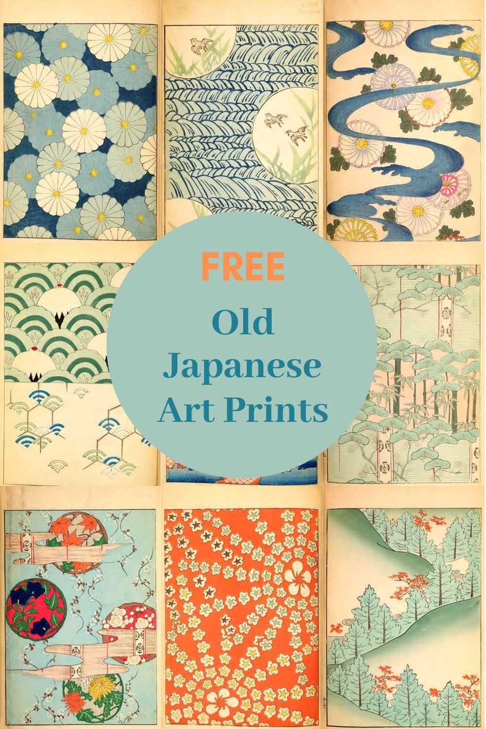 A beautiful collection of vintage Japanese art prints from the magazine Shin-Bijutsukai.  Turn of the century prints 1901-1902 all free to download.  #japaneseart
