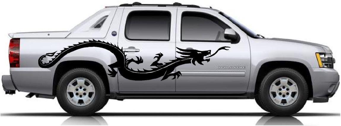Amazon Com Furious Dragon Side Car Decal Sticker Vinyl Car Truck