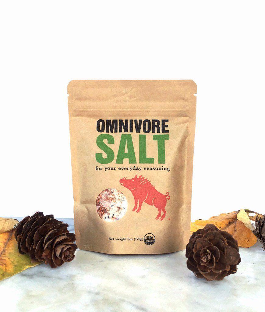 Omnivore Salt Food icons, Slow food, Salt