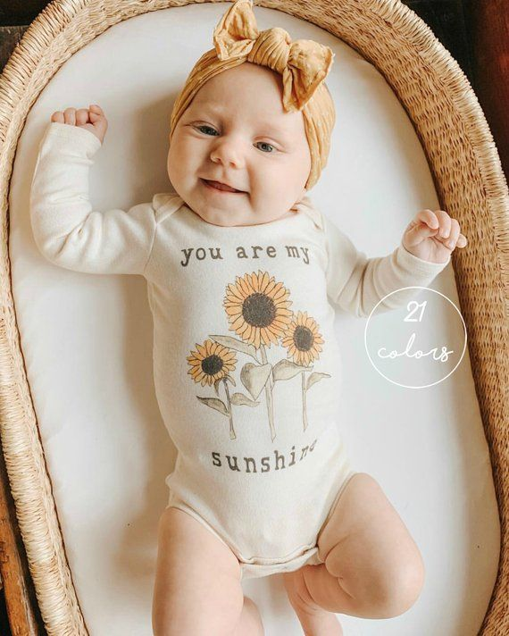 baby gift baby milestones Baby unisex bodysuit gift wrapped baby clothes new born baby shower