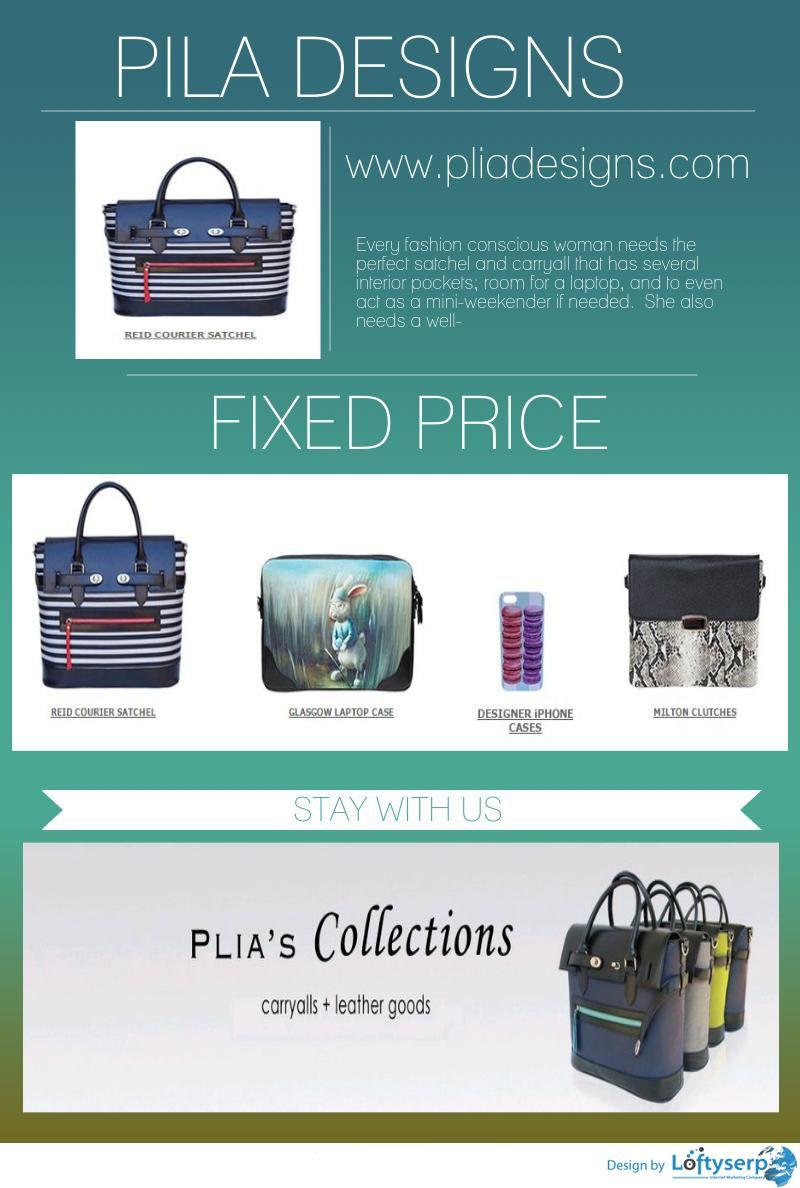 designer messenger bags for women - www.pliadesigns.com