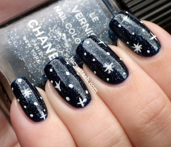 55 Easy New Years Eve Nails Designs and Ideas 2018 | Nail design
