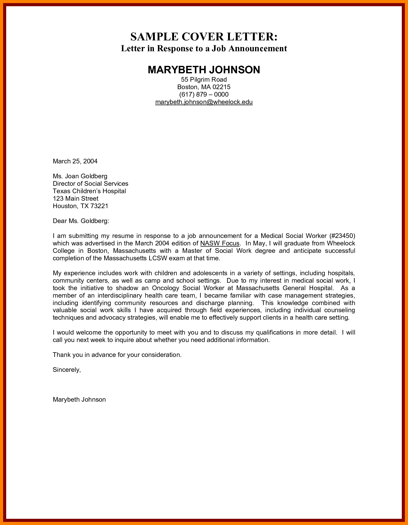30 best of sample cover letter for human services job pics wbxo us