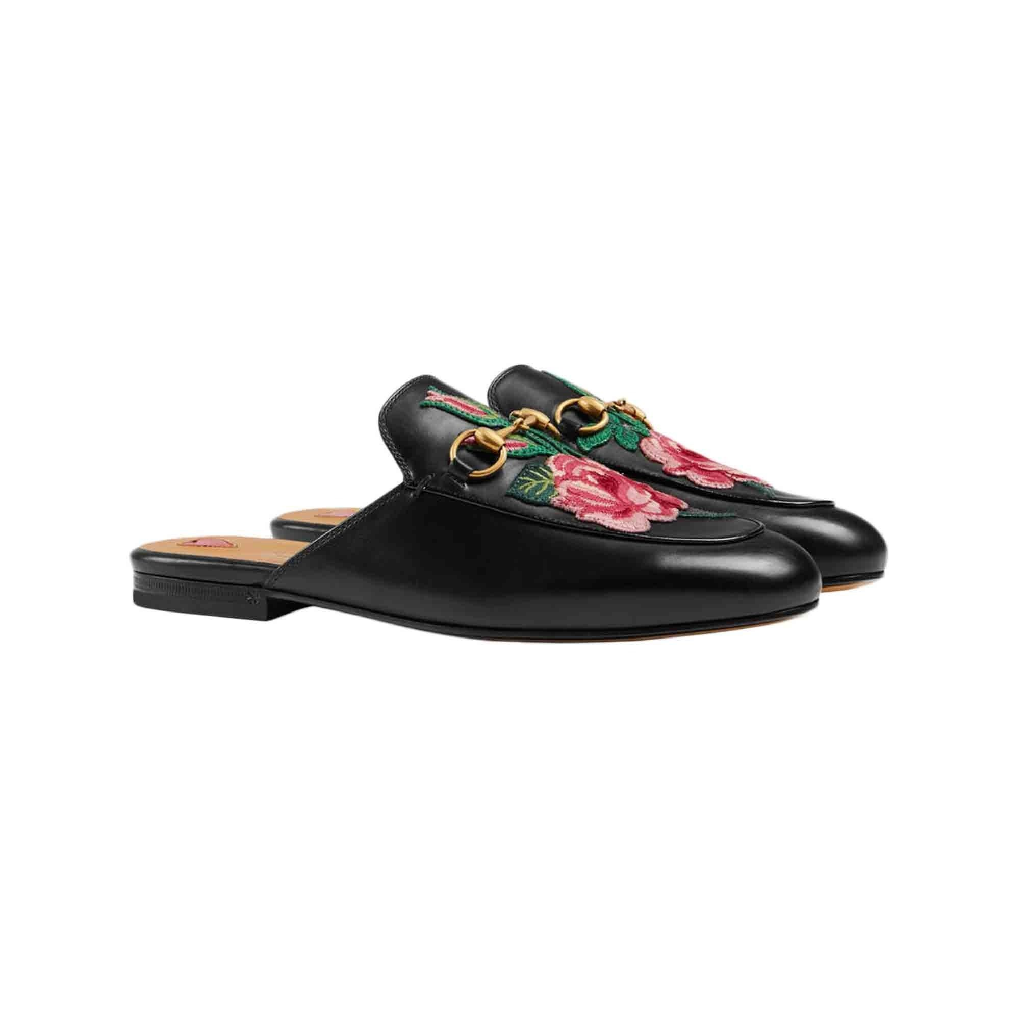 Growing up Ukrainian-American, I'm a sucker for anything with embroidery. But with these slipper loafers, I especially love how the embroidery contrasts with the sleekness of the leather and the metal hardware. Plus, you know, Gucci.