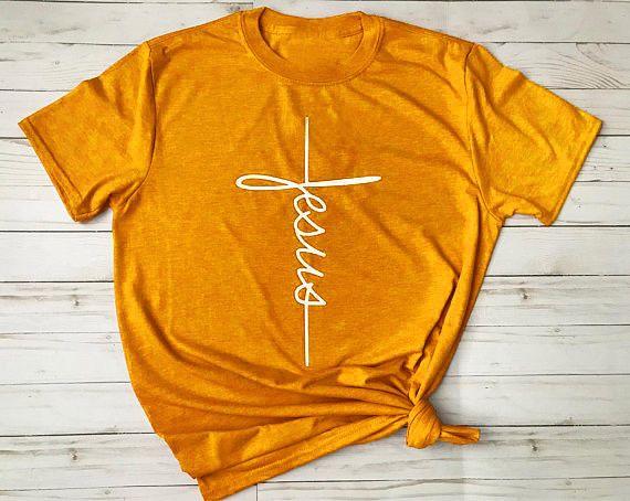 58df1155c01e5b Jesus cross T-Shirt Christian religious tshirt Women Funny Graphic t shirt  tees#Christian#religious#Shirt
