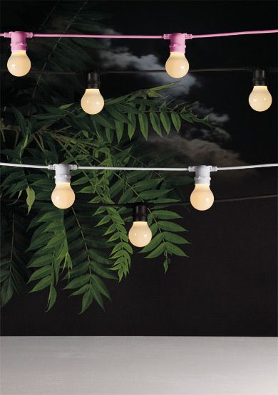 Design Vintage Bella Vista Festoon Lights Seletti Outdoor