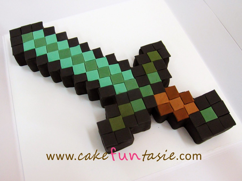 minecraft+sword+cake.jpg (1500×1125) | Kids stuff ...