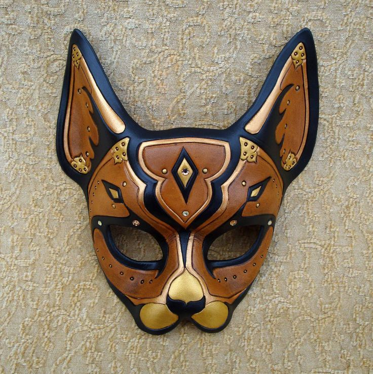 Image result for egyptian cat clay model Cat mask