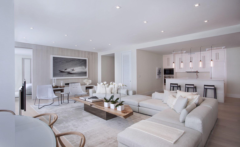 W South Beach Penthouse Miami Usa Luxury Living Room Modern Living Room Luxury Living Room Design